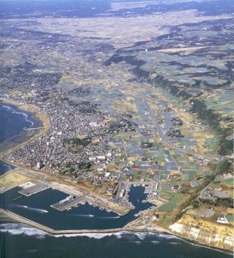九十九里浜(沖積平野) -浜が前進してできた平野-